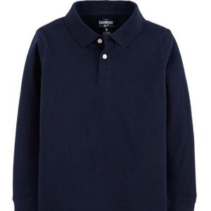 OshKosh Uniform long sleeve Polo size 6